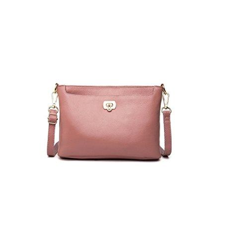 La cuir à première couche nouveau souple atmosphérique en sac main à Pink main de simple sauvage de 2018 sac la cuir cuir sac mode Messenger rPrnw8q