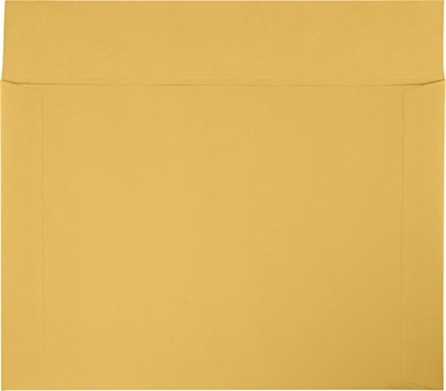 12'' x 17'' Booklet Envelopes - 40lb. Brown Kraft (250 Qty.) by Envelopes.com (Image #1)