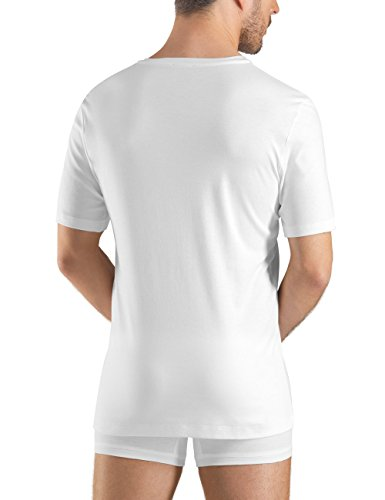 Vest Hanro Island Sea Cotton White white Men's faqz7awv