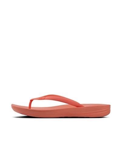FitFlop Tongs Coral Iqushion Flip Ergonomic Sunshine Femme Flops rqIrPOx8w
