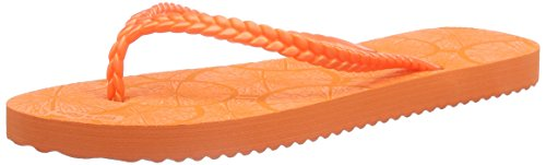 Slim Orange for Red Lemon Flop Model Womens Flip qxg04E8wS