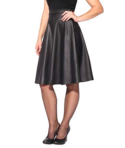 Mode Noir Femme KRISP Plisse 2778 Jupe xIvIERz