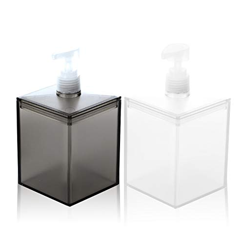 Felimoa 샴푸 디스펜서 리필용 물병 700ml (2 개 세트) / Felimoa Shampoo Bottle Dispenser Refill Bottle 700ml (2 pcs)