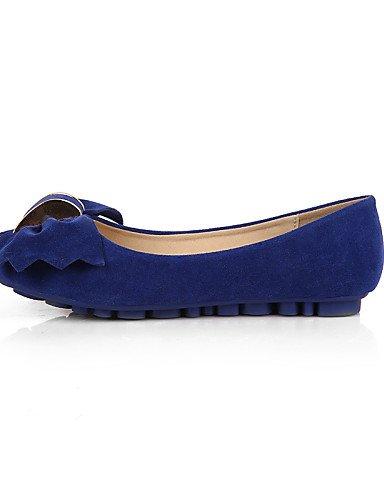 talón Punta plano us8 de tipo colores disponibles uk6 PDX Redonda Flats blue cerrado zapatos Mocasín ante Toe casual vestido de mujer eu39 cn39 más XpYzqS