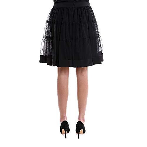 Viscose MOSCHINO Jupe Femme Noir 01160447J1555 Wq8P7fw