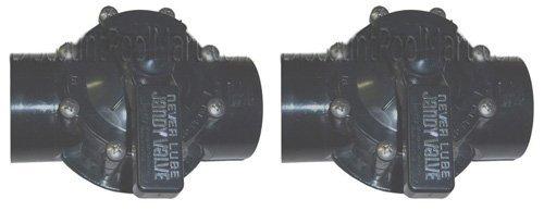 2 PACK - Jandy 2-Way Valves 2'' CPVC 4716 by jandy valve