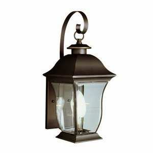 Trans Globe Lighting 4970 BK Outdoor Downing 18'' Wall Lantern, Black by Trans Globe Lighting