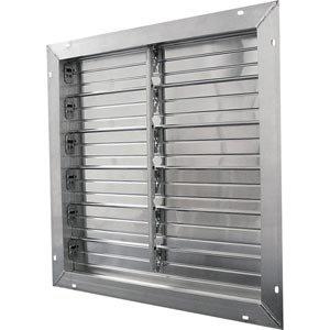 Aluminum Exhaust Shutters - 30 x 30 by FarmTek