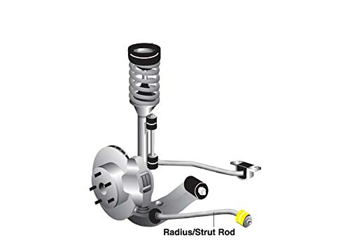 W81664 Whiteline Strut Rod To Chassis Bushing Front