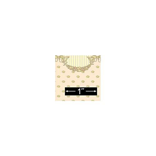 Dollhouse Miniature 6 Pack 1/2 Scale Wallpaper: Cherubs (Cherub Wallpaper)