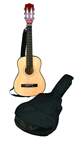 Bontempi - Gsw 75.2/b - Guitare En Bois Avec Housse De Protection Et Transport - 75 Cm