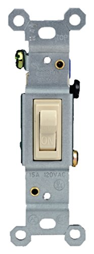 GE 54859 Single Pole Grounding Toggle Switch(30 Piece Tray Pack), ()