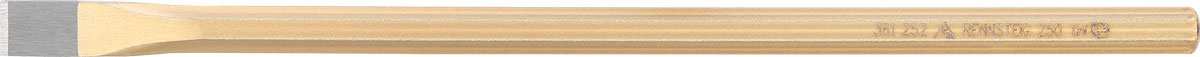 Rennsteig 362 252 0 Electrician's Chisel, Gold, 14 x 250 mm