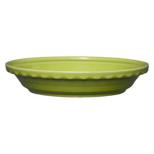 Homer Laughlin 332-487 Deep Dish Pie Lemongrass