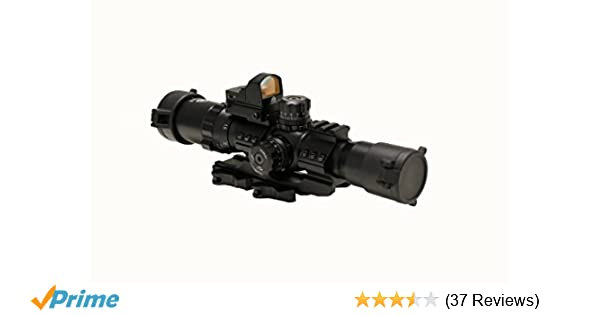 Amazon Trinity Force 1 4x28 Assault Series Riflecope Mil Dot Reticle Sports Outdoors