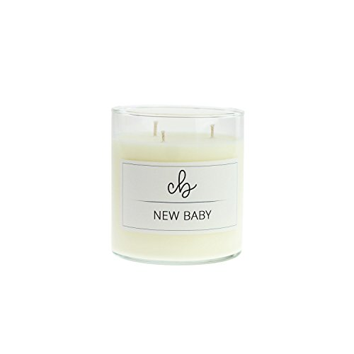 CandleBox Store Handmade Scented Soy Wax Candle, New Baby, 16.3 Ounces
