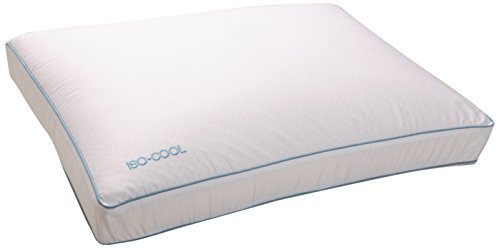 Iso-Cool Memory Foam Pillow, Gusseted Side Sleeper ,Standard by SleepBetter (Iso Cool Side Sleeper Pillow compare prices)