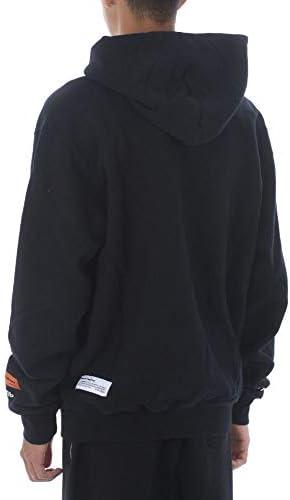 HERON PRESTON Mode De Luxe Homme HMBB011F20JER0021020 Noir Coton Sweatshirt | Automne-Hiver 20