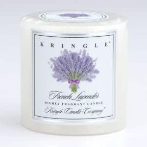 Amazon.com : Kringle Candle 3x3 Pillar: French Lavender ...