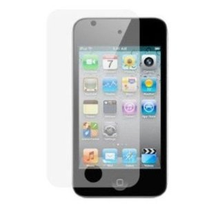 4G Touch Twin Pack Black and Clear Silicone Protective Armour Case Cover with Screen Protector Kit for New Apple iPod Touch 4th Generation - 8GB,32GB and 64GB