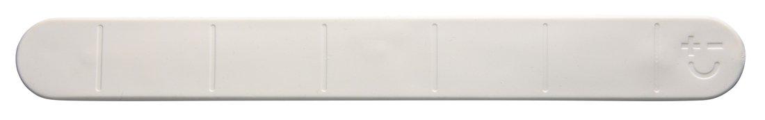 Magmates MMKR01-30-W Knife Rack, Rubber, White Bisbell magnets