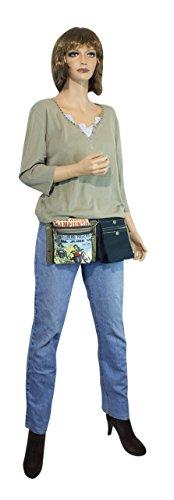 Sunsa Vintage Tasche Umhängetasche Schultertasche aus Canvas