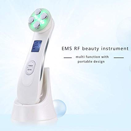 Home RF RF face-Lift Beauty Instrument Without Needle Wrinkle Surgery Facial Beauty Instrument Anti-Wrinkle,1