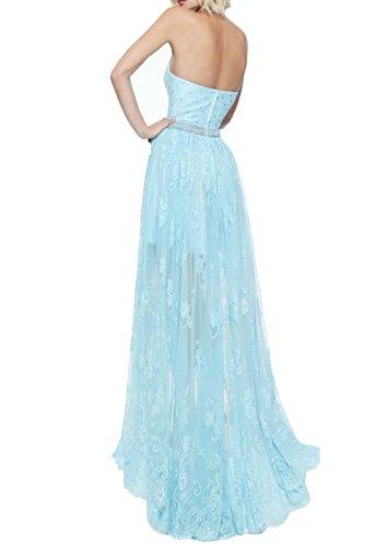 Olive Abendkleider Ballkleider Partykleider Linie Braut Abschlussballkleider A Hi La lo Gruen Neckholder Spitze Festlichkleider mia HwnOfaqS