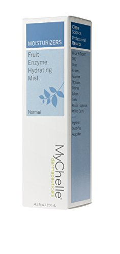 MyChelle Fruit Enzyme Hydrating Mist, Moisturizing, Antioxidant-Rich Facial Spray for All Skin Types, 4.2 fl oz