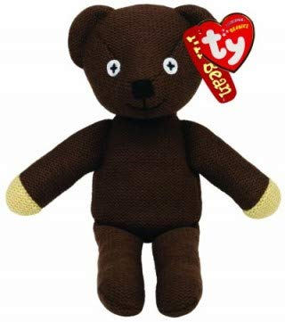 Bear Teddy Bean Plush Mr (Ty Beanie Mr Bean's Teddy Bear, TV Favourite and Perfect Plush!)
