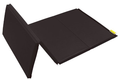 - MatsMatsMats.com All Purpose Sport Mat, 4'x8'x1-3/4, Black, Hook and Loop fastener on 2 short sides