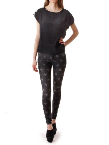 Vero Moda Ellis Chain T-Shirt black (Schwarz)