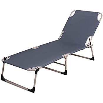 Amazon.com: Chairs Recliners Garden Sun Lounger Bamboo ...