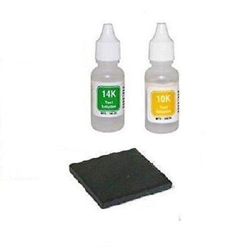 - Gold Test Acid Tester Kit 10k 14k & Testing Stone
