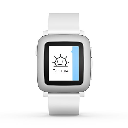 pebble Time Smartwatch White (Best App For Sending Group Texts)