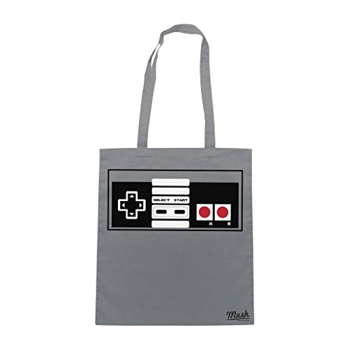 Borsa Nes Nintendo Videogame - Grigia - Games by Mush Dress Your Style