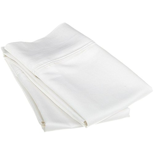 1200 Thread Count 100% Egyptian Cotton, Soft and breathable, 2-Piece King Pillowcase Set Solid, (2 Piece Pillow Set)