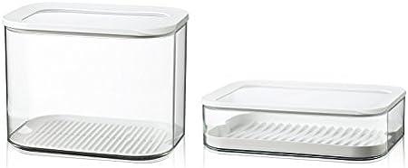 san//pe Mepal Storage Box White 375 ml