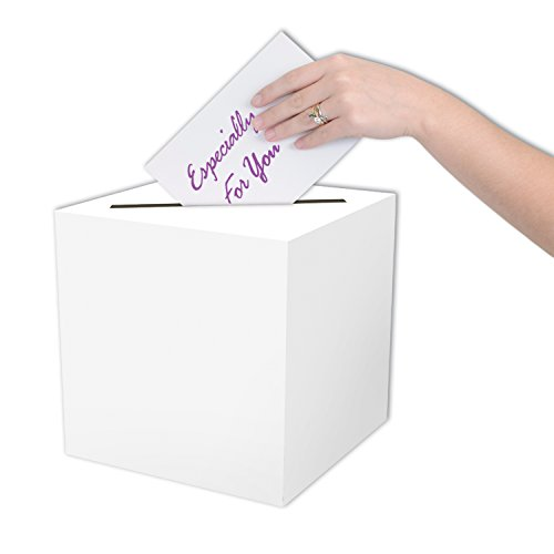 Beistle 54390 All-Purpose Card Box, 9 by 9-Inch (Ballot Box)