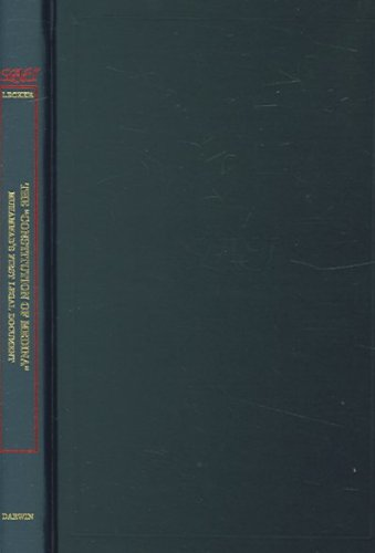 constitution-of-medina-studies-in-late-antiquity-and-early-islam-vol-23