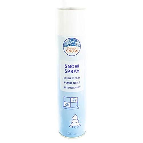 Decorative Christmas Snow Spray Extra Large (600ml) UK Christmas World