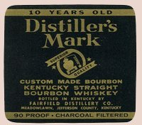 Fairfield Distillery Company Meadowlawn Kentucky - Distiller's Mark - Collectible Bottle Labels - Set of 8 Labels (Ale Brew Distiller compare prices)