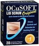 Health & Personal Care : Ocusoft Lid Scrub, Pre-Moistened Pads, Original Formula, 30 Pads