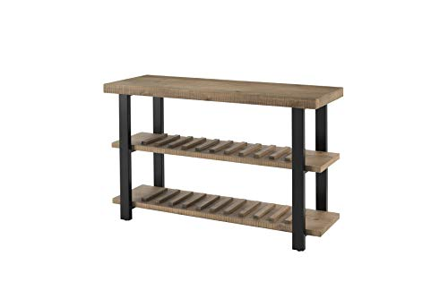 Martin Svensson Home Foundry Console Sofa Table, Reclaimed Natural