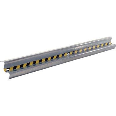(Vestil GR-10 Galvanized Straight Guard Rail, 120