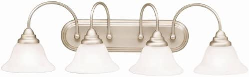 Kichler 5994NI Telford Bath 4-Light, Brushed Nickel