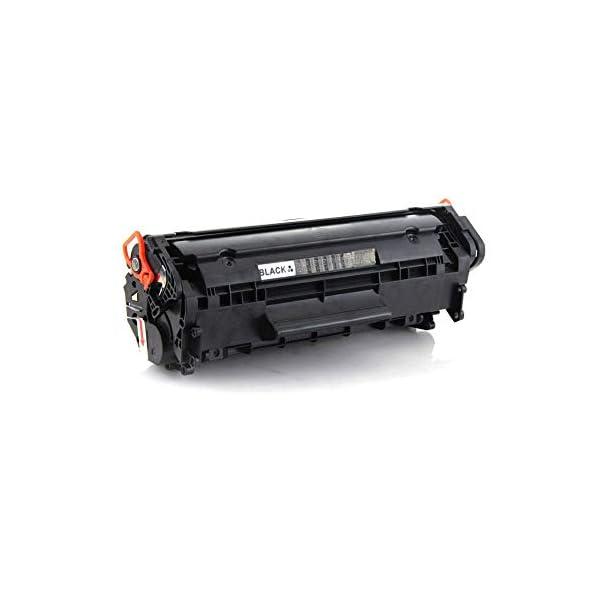 Zigma Laser Toner Cartridge 12A Compatible for HP Printers HP Laserjet Printer 1020 1010 1012 1018 1022 1022 3015 3050 3052 3055 1015 3030 M1005 M1319F and Canon FX-9 LBP 2900 3000