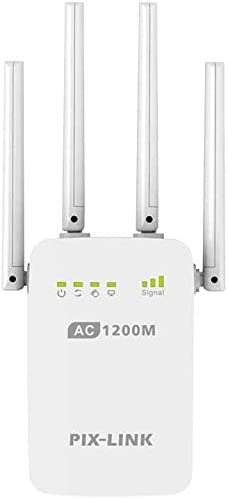 Asdomo AC 1200Mbps Inalámbrico 2.4G/5G Repetidor Wifi Alta ...