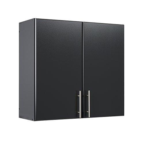 Wall Storage Black Cabinet - Prepac BEW-3230 Elite Storage Cabinet 32