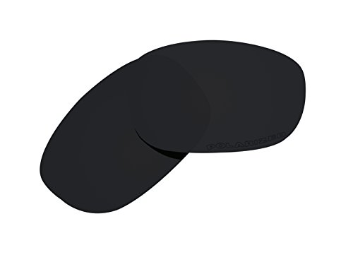 BVANQ Polarized Lenses Replacement for Oakley Discreet Sunglasses Stealth - Lenses Replacement Oakley Discreet